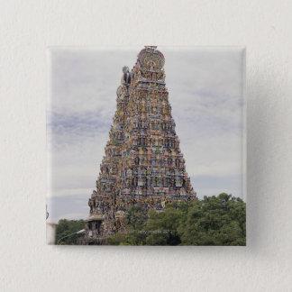 Sri Meenakshi Amman Temple, Madurai, Tamil Nadu, Pinback Button