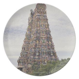 Sri Meenakshi Amman Temple, Madurai, Tamil Nadu, Dinner Plates