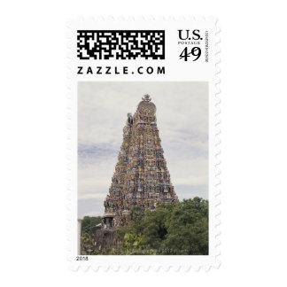 Sri Meenakshi Amman Temple, Madurai, Tamil Nadu, Postage Stamp