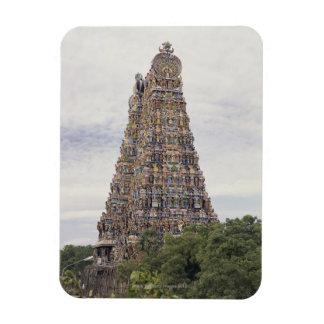 Sri Meenakshi Amman Temple, Madurai, Tamil Nadu, Rectangular Photo Magnet