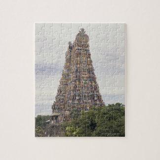 Sri Meenakshi Amman Temple, Madurai, Tamil Nadu, Jigsaw Puzzles