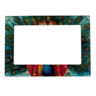 Sri Shanmukaha Subramania Swami by Raja Ravi Varma Magnetic Frame