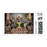 Sri Sri PancaTattva Mandir Stamp