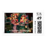 Sri Sri Rukmini-Dwarakadhisa Postage Stamp