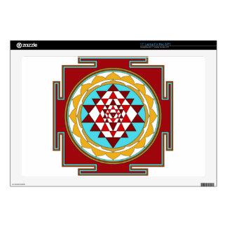 Sri Yantra1 Skin For Laptop
