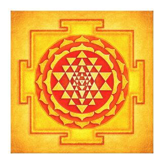 Sri Yantra - Artwork IV Canvas Print