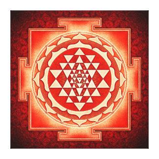 Sri Yantra - Artwork V Canvas Print