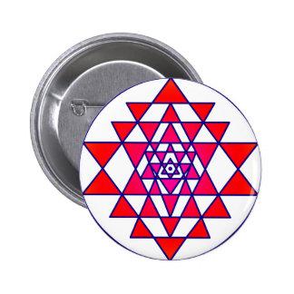 Sri Yantra Button
