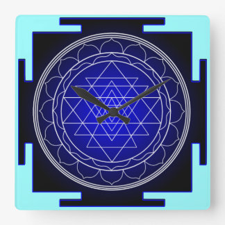 sri yantra clock