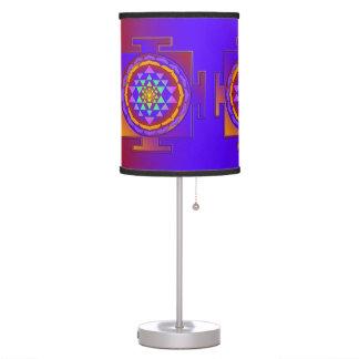 SRI YANTRA coloreado por completo + sus ideas Lámpara De Mesilla De Noche