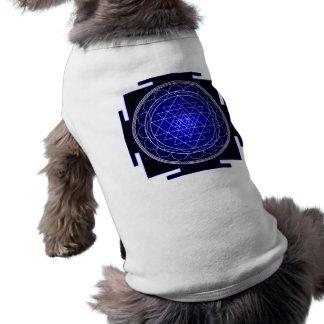 sri yantra dog shirt