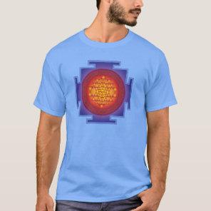 Sri Yantra - Flame T-Shirt
