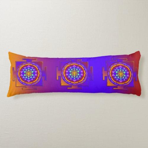 SRI YANTRA full colored  your ideas Body Pillow