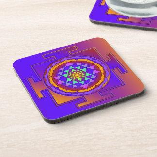 SRI YANTRA full colored + your ideas Coasters