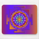SRI YANTRA full colored + your ideas Mouse Pad