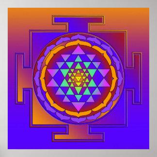 SRI YANTRA full colored + your ideas Poster
