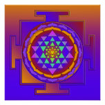 SRI YANTRA full colored + your ideas Posters