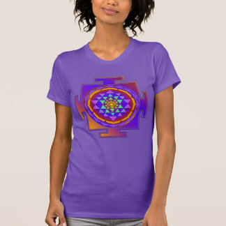 SRI YANTRA full colored + your ideas Tee Shirts