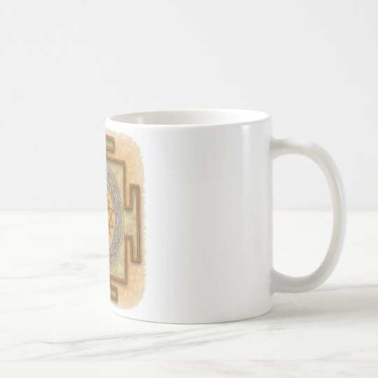 Sri-Yantra-Gold Coffee Mug