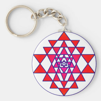 Sri Yantra Keychain