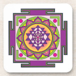 Sri Yantra Mandala Coasters