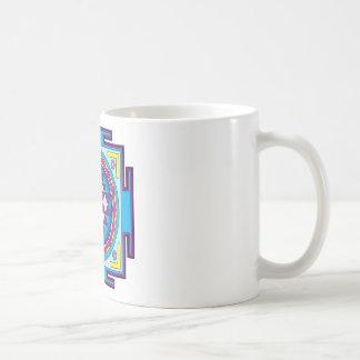 Sri Yantra Mandala Basic White Mug