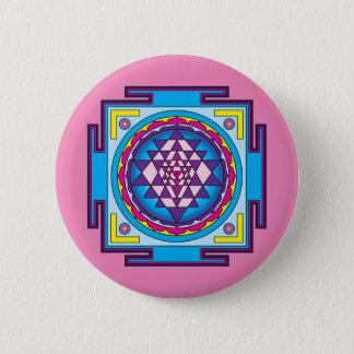 Sri Yantra Mandala Pinback Button