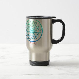 Sri Yantra Mantra Travel Mug