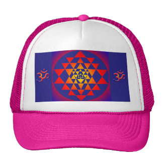 Sri Yantra Mesh Hat