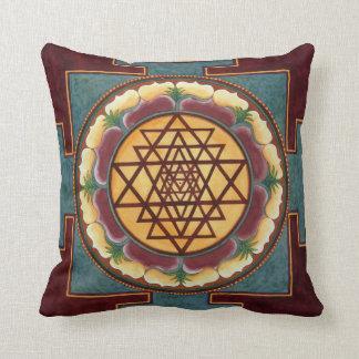 Sri Yantra pillow