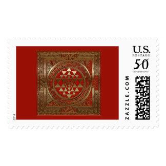 Sri Yantra - Postage / Stamp