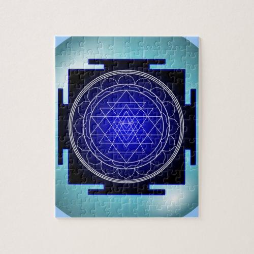 sri yantra puzzle