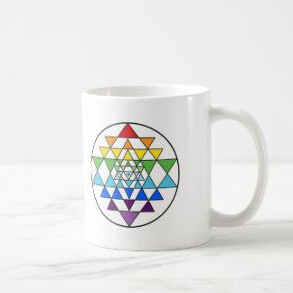 Sri Yantra Rainbow Mug