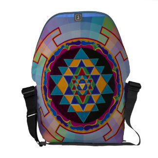 Sri Yantra rickshaw bag Commuter Bags
