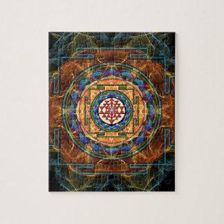 Sri Yantra - Sacred Geometry Jigsaw Puzzle