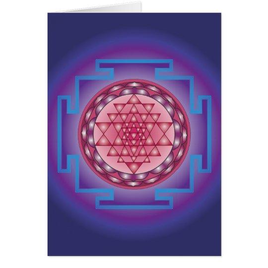 SRI YANTRA - SANCTUARY CARD