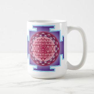 SRI YANTRA - SANCTUARY CLASSIC WHITE COFFEE MUG