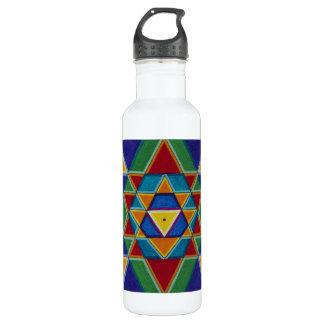 Sri Yantra Stainless Steel Water Bottle