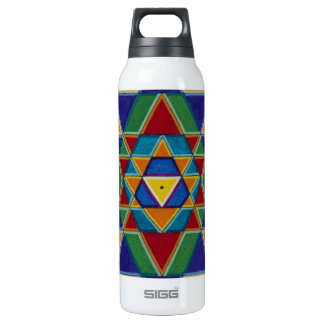 Sri Yantra Thermos Bottle