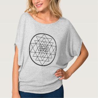 sri yantra: two opposing forces that make momentum tee shirt