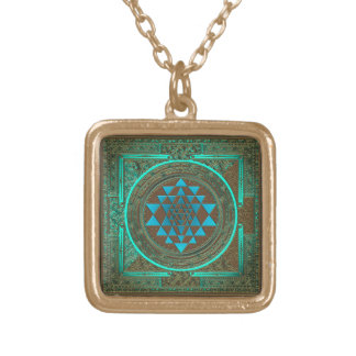 Sri Yantra Water Glow - Necklace