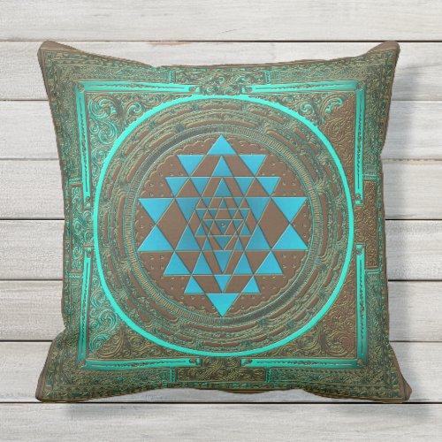 Sri Yantra Water Glow _ Pillow