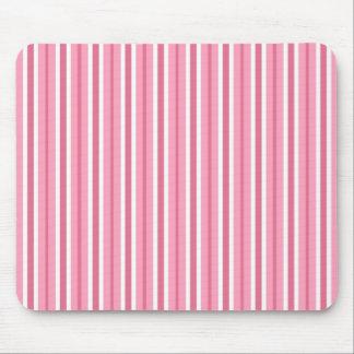 Sriped rosado Mousepad Alfombrillas De Ratones