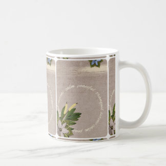 SRPL SERENE CALM PEACEFUL TRANQUIL FLORL COUNTRY S COFFEE MUG