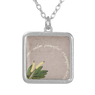 SRPL SERENE CALM PEACEFUL TRANQUIL FLORL COUNTRY S JEWELRY