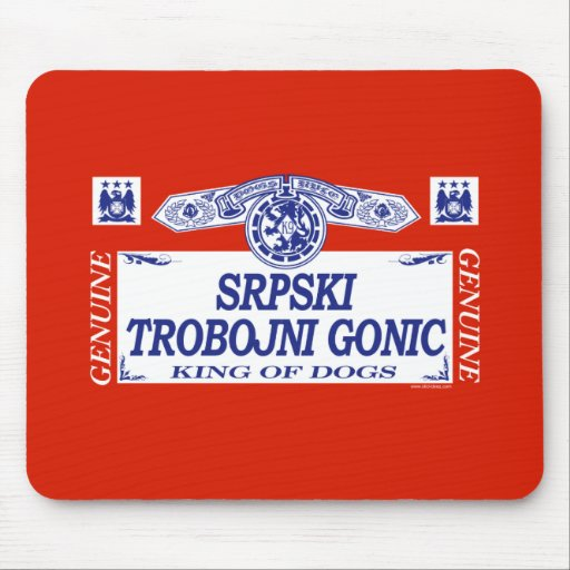 Srpski Trobojni Gonic Alfombrillas De Ratón