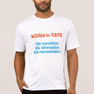 Srta. 3 a odiar camisetas