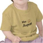 Srta. agosto camiseta