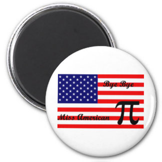 Srta. american Pie Imán Redondo 5 Cm