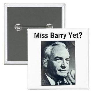 ¿Srta. Barry Yet? Pin